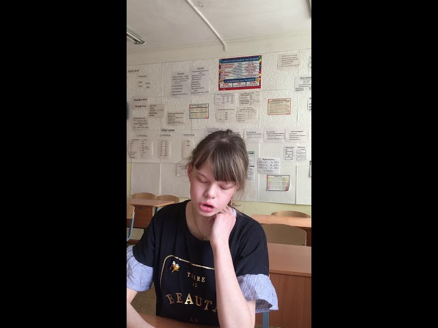 Изображение предпросмотра прочтения – ДарьяЗайцева читает произведение «Зима недаром злиться...» Ф.И.Тютчева