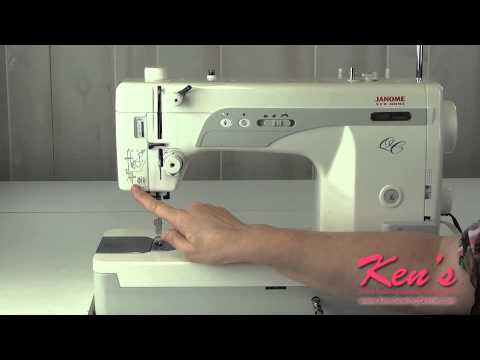 Janome 1600P-QC Sewing Machine Review - YouTube