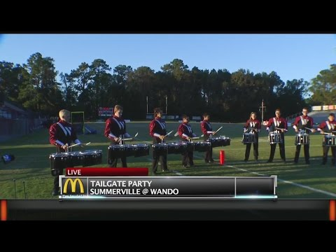 Wando High School Band Plays for Rob Fowler