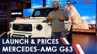 New Mercedes-AMG G63 In India: First Look | NDTV carandbike