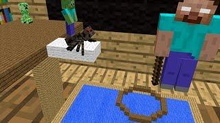 Monster School: Water Acrobatics - Minecraft Animation