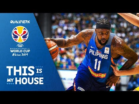 Andray Blatche - Philippines | Top Plays Rd.1 | FIBA Basketball World Cup 2019 Asian Qualifier