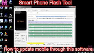 Smart Phone Flash Tools How To Use? This Software