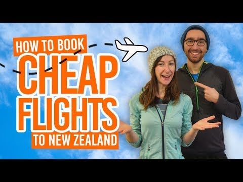 How To Book A Cheap Flight To New Zealand