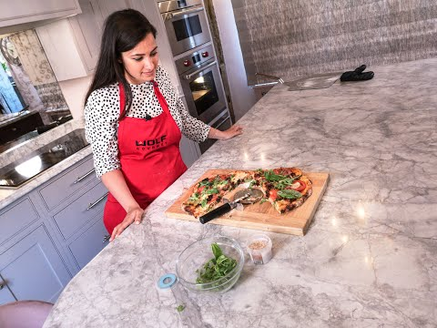 Homemade Pizza Cookery Demonstration Including Wolf Cooking Appliances