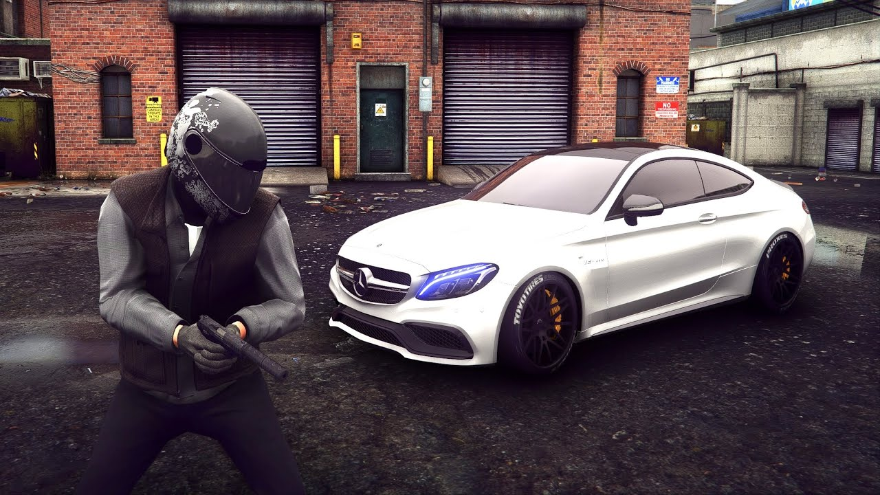 ⁴ᴷ⁶⁰ GTA 5 PC REAL LIFE Graphics - Mercedes-AMG C 63 S 🔥 BRUTAL Sound GEFORCE RTX™ 3090 & i9-10900K