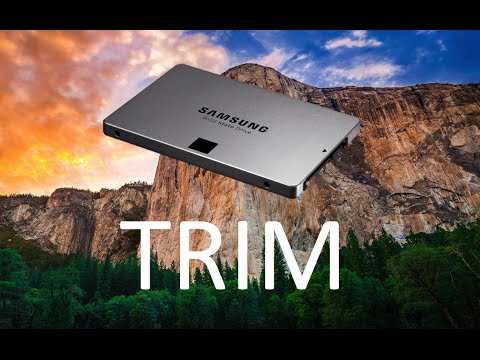 How To Enable TRIM On Any Macbook (OS X El Capitan)