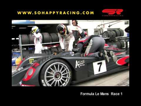 Formula Le Mans Nurburgring 2009 Race 1