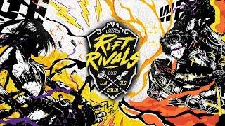 Rift Rivals 2017 - Rodada 1 - Dia 2
