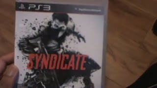 Unboxing (Abriendo) Syndicate PS3