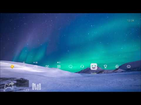 Aurora Borealis (Northern Lights) PS4 Dynamic Theme