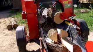 Łupanie drewna; piło-łuparka Mastersplit WP36