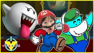VTubers Ryan Vs. Big Gil BOO BOSS Let's Play Super Mario 3D Land