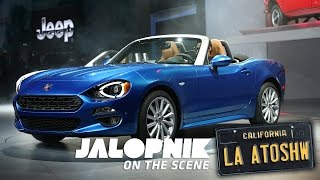 The 2017 Fiat 124 Spider Is Silly In The Right Way