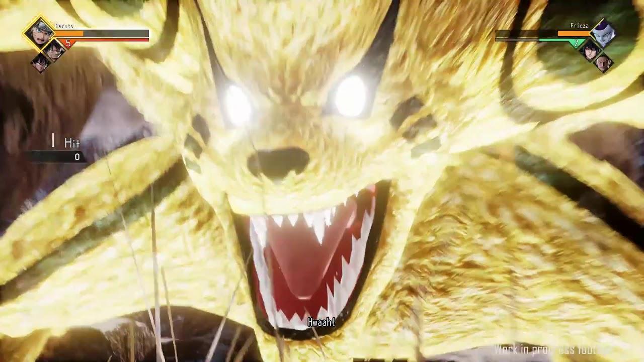 Jump Force E3 2018 Gameplay! [Naruto vs. Frieza]
