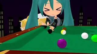 【第7回MMD杯本選】Nendoroid Billiards【VOCALOID】