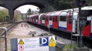 London Underground Central and Circle Lines, Sunday 23rd March 2014