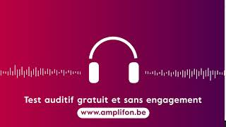 Test auditif gratuit et sans engagement
