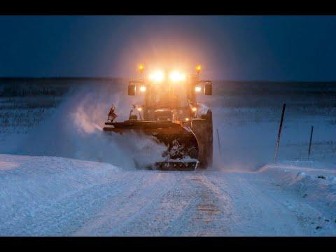 Winterdienst -24h - im Einsatz - Winter - Extrem - Schneechaos 2019 - Lohnunternehmen Peter Kircher