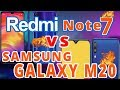 Redmi Note 7 vs Samsung Galaxy M20