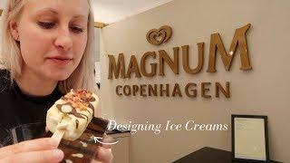 DESIGNING OUR OWN MAGNUMS at Magnum Pleasure Store in Copenhagen | Merete