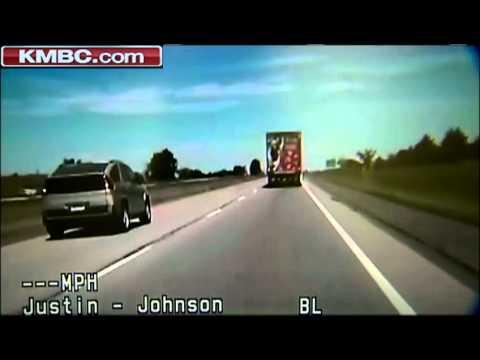 Vehicle's accelerator gets stuck on I-35