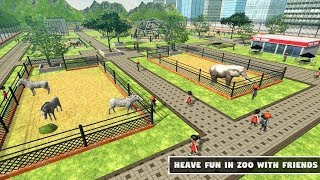Animal Zoo Craft: Construct & Build Animals World Android Gameplay