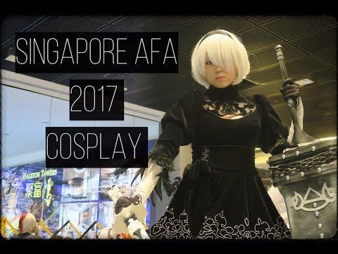 C3AFA Anime Festival Asia 2017 Cosplay (Singapore)