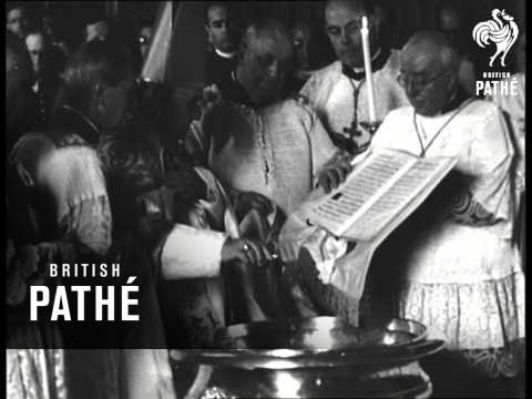 Pope Blessing Angus Dei (1959)