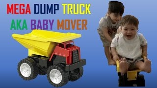 Unboxing Mega Dump Truck Toy AKA Baby Mover