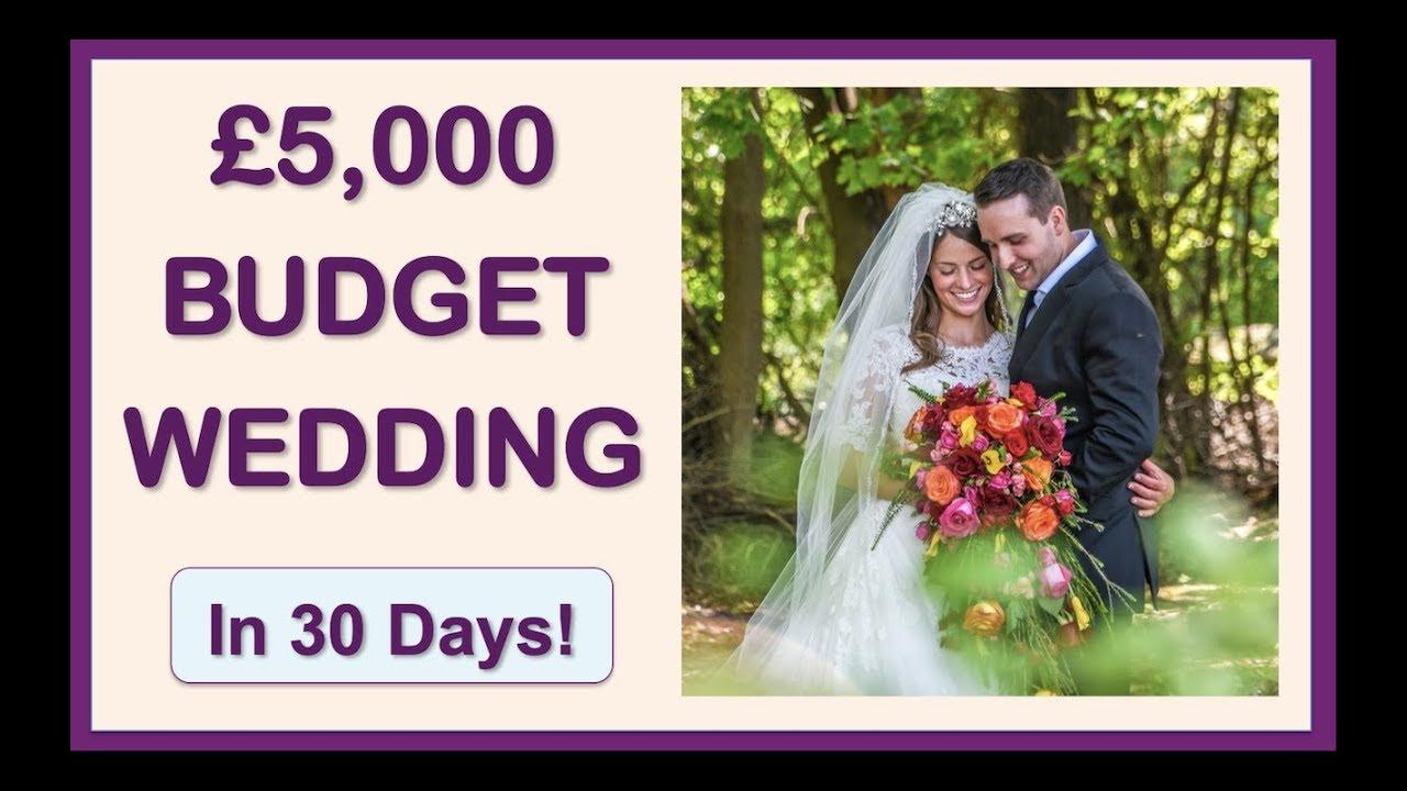 5000 Budget Friendly Low Cost Wedding Ideas Under 5000