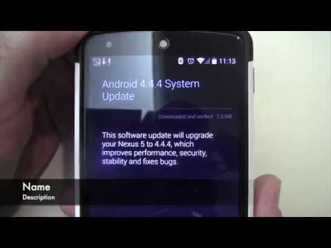 Nexus 5 Android 4.4.4 Heartbleed Update