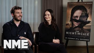 39The Nightingale39 Sam Claflin and Aisling Franciosi on 201939s most shocking film scene