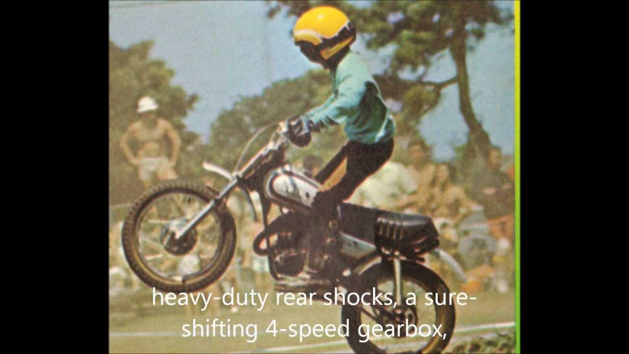1973 yamaha gt mx 80 mini motocrosser youtube for Wohnzimmertisch 80 x 50