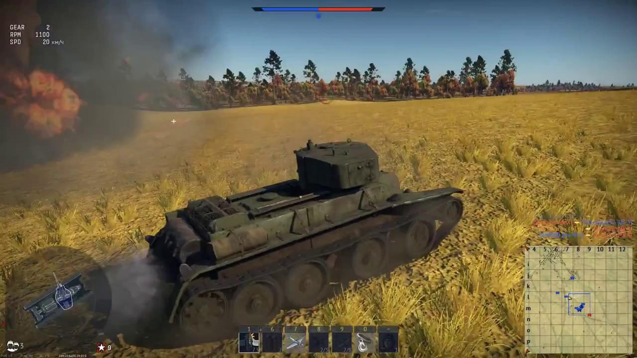танковые бои вартандер видео
