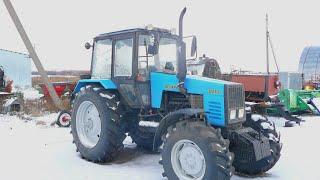 Смотр нового купленного трактора МТЗ-1221.2.Болтавня с Лехой!