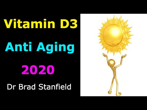 Vitamin D3 Anti Aging Supplement? 2020 Research Explored