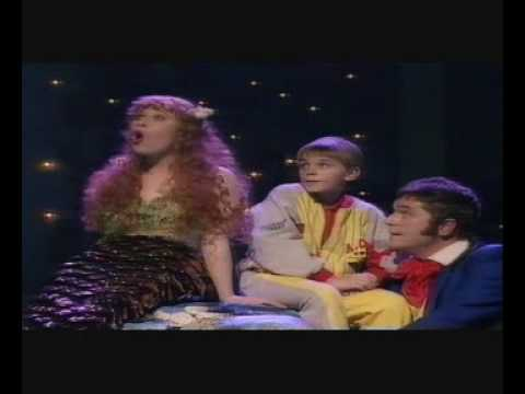 Brian Conley as Hans Christian Anderson with Linzi Hateley Royal Variety Part 2 #NSPCC