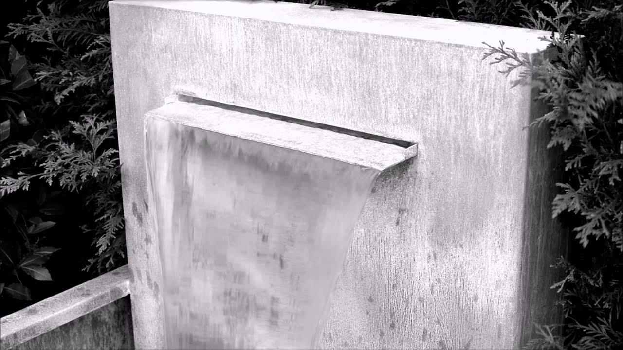 Zinc Single Wide Spout Fountain Water Feature Inc Pump 1000x700x1300 Vhm1500
