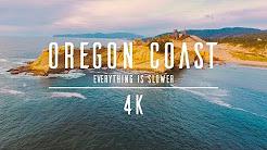 4K - Drone - Oregon Coast - Everything is slower