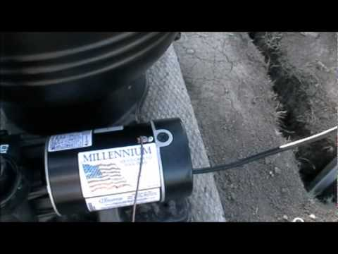 Above Ground Pool Electric Installation - YouTube