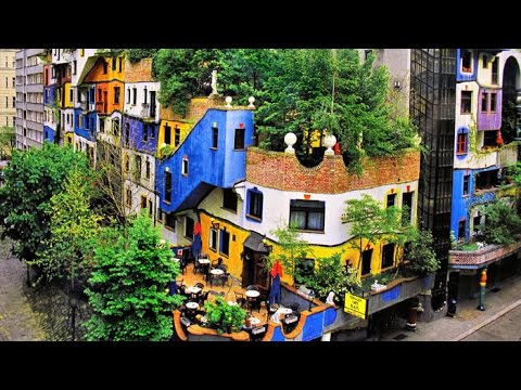 Hundertwasser House The Most Beautiful Buildings In Austria Youtube
