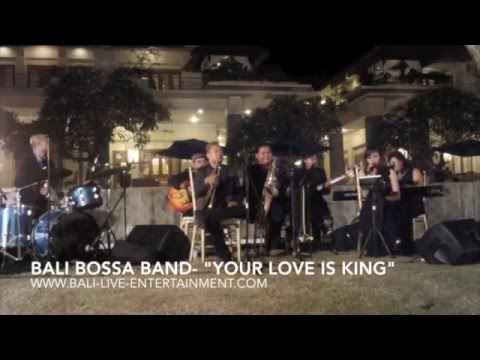 "Bali Bossa Band- ""Your Love is King"" at Vina & Wilson wedding"
