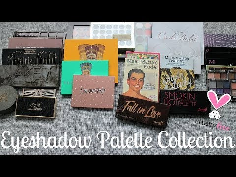 Eyeshadow Palette Collection 2018 | Cruelty Free
