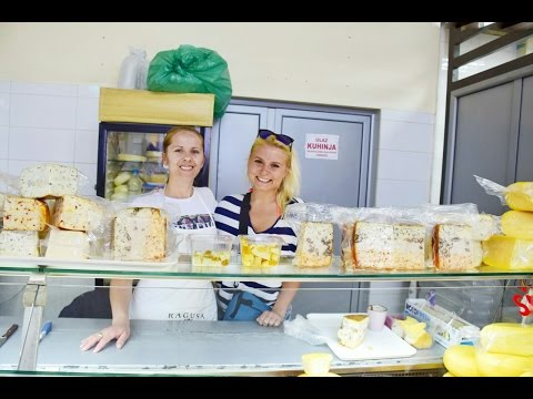 Montenegro:Budva food market/Черногория:Будва,продуктовый рынок