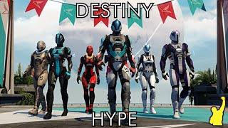 Destiny Hype - La liga de Carreras de Colibris, Armaduras del Iron Banner exclusivas para PS y más