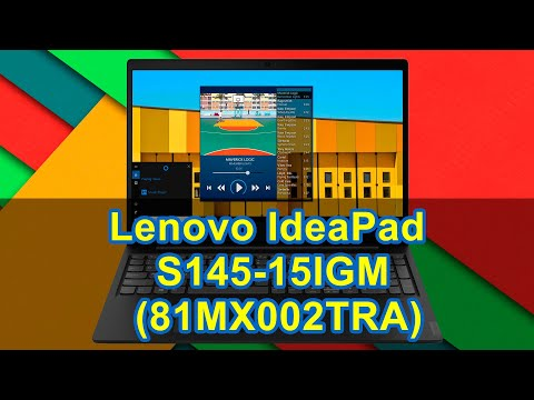 Распаковка Lenovo IdeaPad S145-15IGM (81MX002TRA)