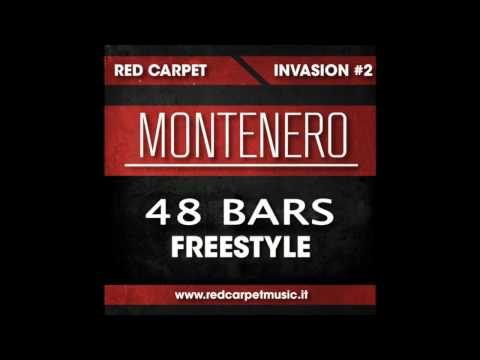 RED CARPET INVASION #2 - MONTENERO - 48 BARS FREESTYLE - (Audio + Link Download)