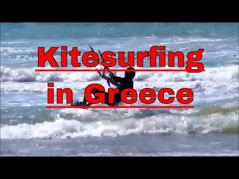 The Best Kitesurfing Spot in Greece