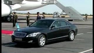 Nursultan Nazarbaev, Rozu Otumbaev and Emomali Rahmon arrived in Armenia